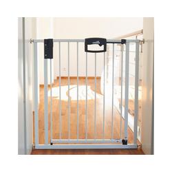 Geuther Treppenschutzgitter Treppenschutzgitter Easy Lock, Metall, weiß, 84,5