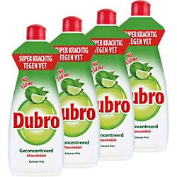 Dubro Geschirrspülmittel 4 Stück à 550 ml