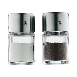 WMF Salz- / Pfefferstreuer 2-tlg. Edelstahl Mini Salz- & Pfefferstreuer Set