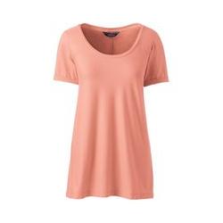Shirt mit Ballettausschnitt - XS - Pink