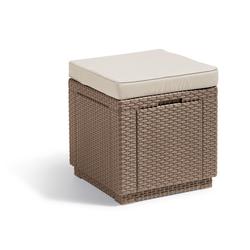 Keter Hocker Hocker Cube (1 St), 1x Hocker Cube natur