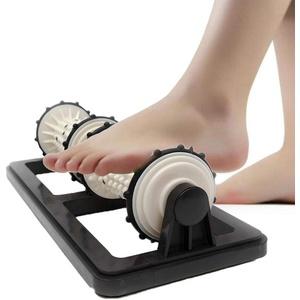 wangza Fußmassageroller Zur Entspannung und Stressreduzierung Plastik Fußmassagegerät Shiatsu Plantarfasziitis Relaxer für Beide Füße
