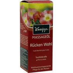 Kneipp Massageöl Rücken Wohl