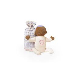 Lulla doll by RoRo Babypuppe Lulla doll Einschlafpuppe mit Herzschlag und Atemgeräusch in lila