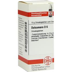 Dulcamara D 6 Globuli