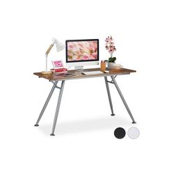 relaxdays Schreibtisch Moderner Schreibtisch