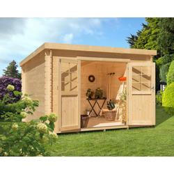 Kiehn-Holz Gartenhaus Hummelsee 1, BxT: 290x250 cm, inkl. Aufbau