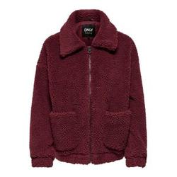ONLY Sherpa Jacke Damen Rot Female XL