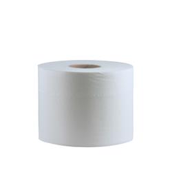 CWS Maxi 80 Toilettenpapier, 2-lagig, hochweiß, Hochwertiges Toilettenpapier aus 100% Zellstoff, 1 Paket = 12 Rollen à 640 Blatt