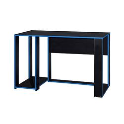 Schreibtisch Gamer blau