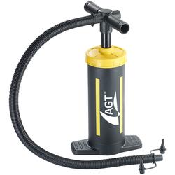 Doppelhub-Hand-Luftpumpe, 2 x 1,5 Liter Pumpleistung, 2 Ventilaufsätze