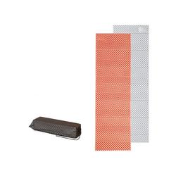 Naturehike Isomatte Ultraleichte Camping Isomatte, Einzelne Schlafmatte, Ultraleicht, Wasserdicht, klappbar, 185x56x1,8 cm, Orange orange
