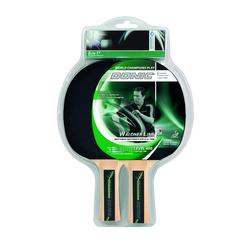 Donic Waldner 400 Set, 2x Waldner 600 Schläger, 3 x 1-Stern Ball,grün,