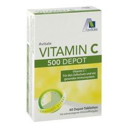 VITAMIN C 500 mg Depot Tabletten 60 St