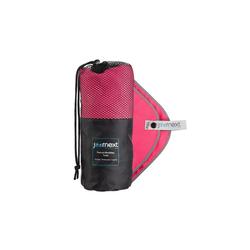 JOURNEXT Reisehandtuch Mikrofaserhandtuch, schnelltrocknend, ultraleicht, antibakteriell (1-St) rosa S (80x40cm)