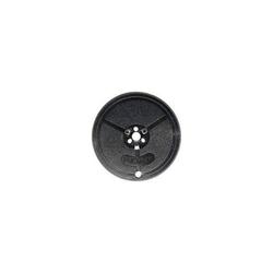 Farbband DIN Doppelspule 13mm/10m Seide schwarz/rot