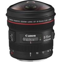 Canon EF 8-15mm F4,0L Fisheye USM