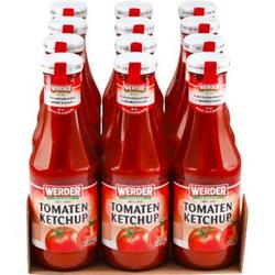 Werder Tomatenketchup 450 ml, 12er Pack