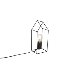 Industrielle Tischlampe schwarz - Hiso