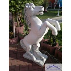 SA-N1070 Gartenfigur Pferd Pferdestant Tierfigur große Pferdefigur 130cm 205kg