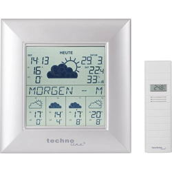 Techno Line WD 9000 Satelliten Wetterstation