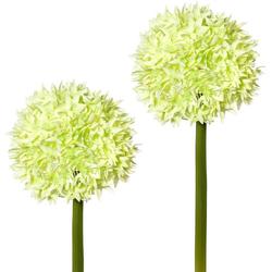 Kunstblume Kunstblume, Creativ green, Höhe 65 cm, (2er Set) grün