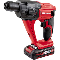 Einhell Power X-Change TE-HD 18 Li Kit SDS-Plus-Akku-Bohrhammer 18V 1.5Ah Li-Ion inkl. Akku, inkl. K