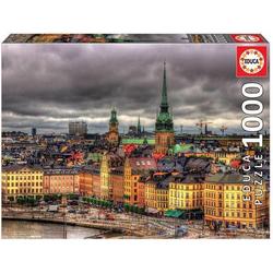 Carletto 9217664 - Educa, Views of Stockholm, Puzzle,