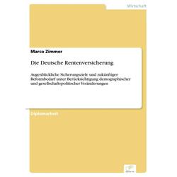 Die Deutsche Rentenversicherung: eBook von Marco Zimmer