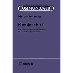 Menschenwissen. Markus Steinmayr  - Buch