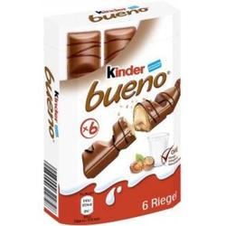 kinder bueno 6er Inhalt: 129g