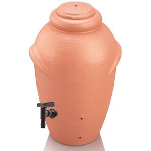 Regentonne AMPHORE 360 Liter MIT Hahn Terracotta Regenfass Regentank Wassertonne