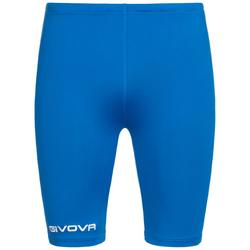 Givova Bermudy Skin Compression Tights szorty rowerowe niebieskie - L