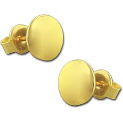 GoldDream Paar Ohrstecker D2GDO5187Y GoldDream Damen Gold Ohrringe Circle (Ohrstecker), Damen Ohrstecker (Circle) aus 333 Gelbgold - 8 Karat, Ø ca. 5mm