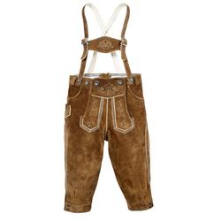 MarJo Trachtenlederhose (2-tlg) Kinder im Knickerbocker-Style 128