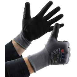 Profi Arbeits-Handschuhe mit Kautschuk- Beschichtung, Ökotex 100, Größe 11
