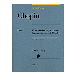 At The Piano - Chopin. Frédéric - At the Piano - 17 well-known original pieces Chopin  - Buch