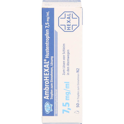 AMBROHEXAL Hustentropfen 7,5 mg/ml 50 ml