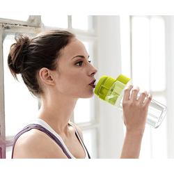 BRITA Trinkflasche Brita Trinkflasche mit Filter fill&go Vital, lemon