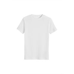 Next Unterhemd Gerippte T-Shirts aus GOTS Bio-Baumwolle, 3er Pack (3 Stück) 134-140