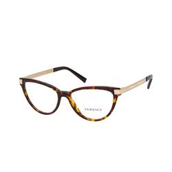 Versace VE 3271 108, inkl. Gläser, Cat Eye Brille, Damen
