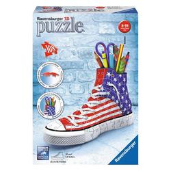 Ravensburger 3D-Puzzle Organizer Sneaker American Style, 108 Puzzleteile