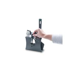 Leckerhelfer - automatisch Lecker Zubehör-Set Zubehör Halter für Thermomix von Leckerhelfer TM6, Zubehör für Thermomix Zubehörhalter TM6 grau
