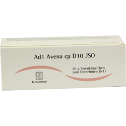 JSO JKH Adermittel Ad 1 Avena cp D 10 Globuli
