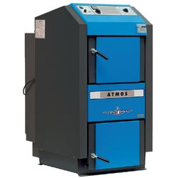 Holzvergaser Atmos GSE 19 bis 49 kW - BAFA - Holz bis 53 cm (Leistung (kW): 25 kW (+ 800 €))