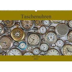 Taschenuhren (Wandkalender 2021 DIN A2 quer)