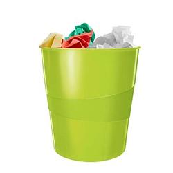 LEITZ WOW Duo Colour Papierkorb 15,0 l grün
