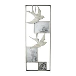 NTK-Collection Wanddekoobjekt Wanddeko Bilderrahmen mit Schwalben