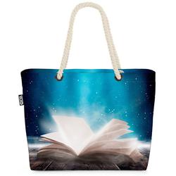 VOID Strandtasche (1-tlg), Zauberbuch Zauberer Buch Zauberbuch Zauberer Buch Hogwarts Potter Buc