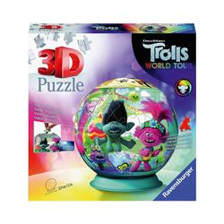 Ravensburger 3D-Puzzle Puzzle-Ball Trolls World Tour, 72 Teile, Puzzleteile